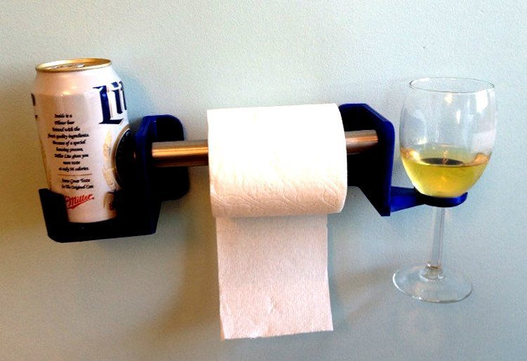 Toilet-Paper-Holder-with-Wine-and-Beer-Stands