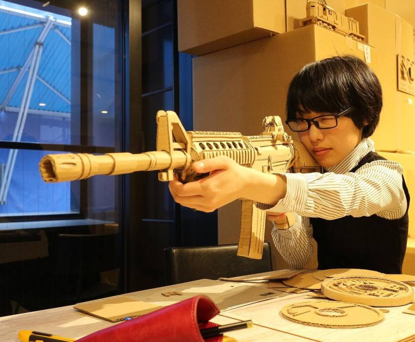 Monami-Ohno-Cardboard-Gun