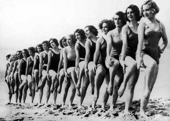 Bathing Suits In 1934