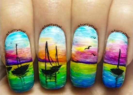 2fa90560a269497864bed534cb88046f--cool-nail-art-cool-nails