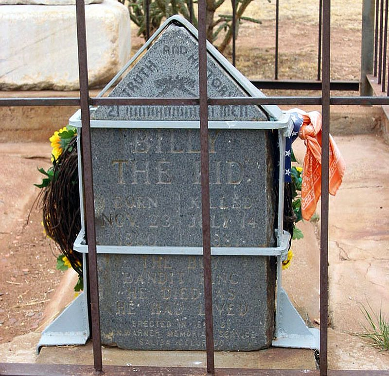 Billy-The-Kid-Individual-Tombstone
