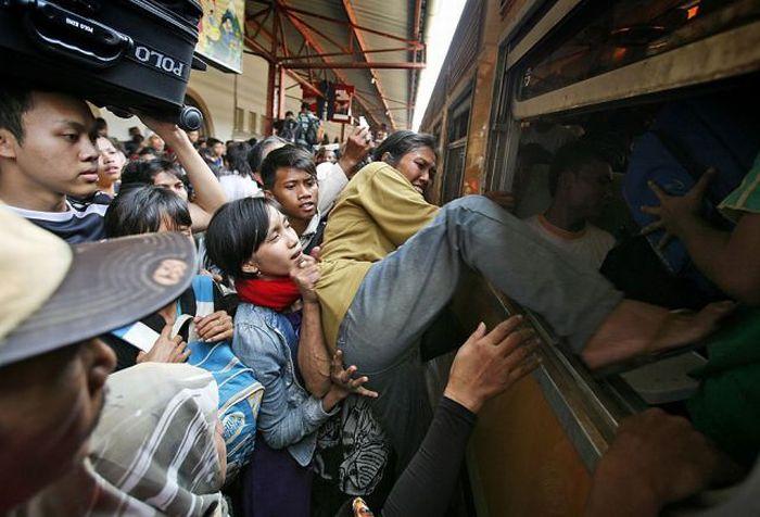 APTOPIX Indonesia Muslim Holiday