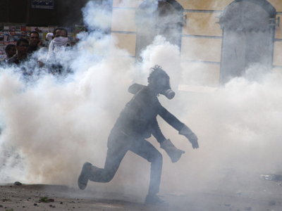 Gaz lacrimogen