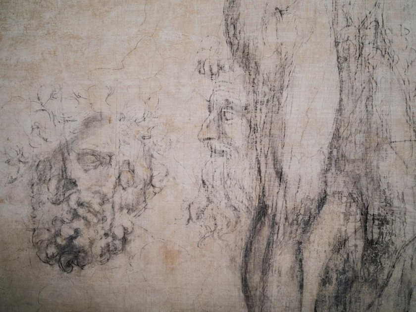 michelangelo-drawings-medici-chapel-