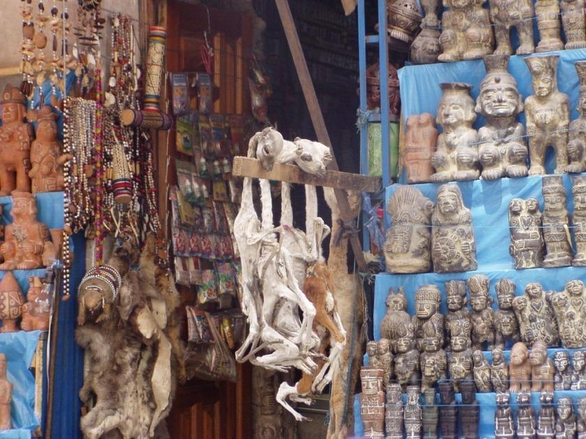 Piata Vrajitoarelor din Bolivia (2)