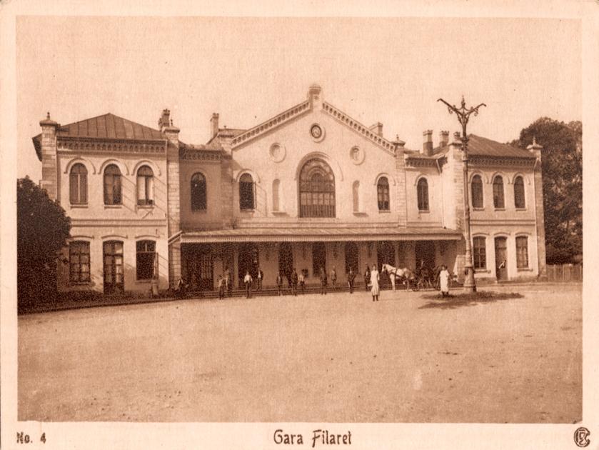 FILARET, prima gară din Bucureşti