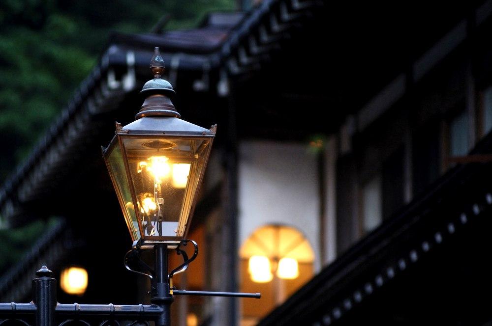 Ultimele lumini stradale cu gaze