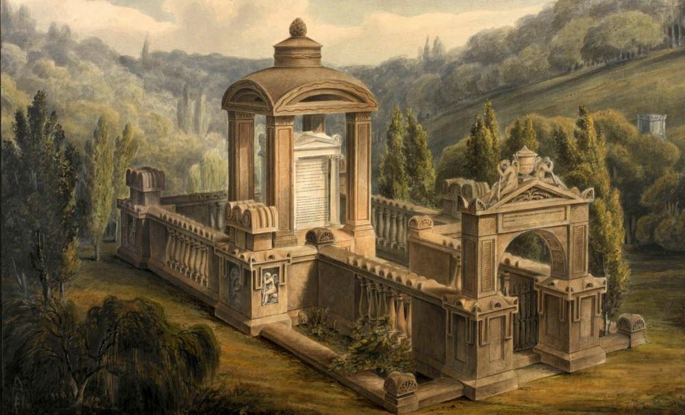 Mormântul care a inspirat cabina de telefon Iconică din Marea Britanie