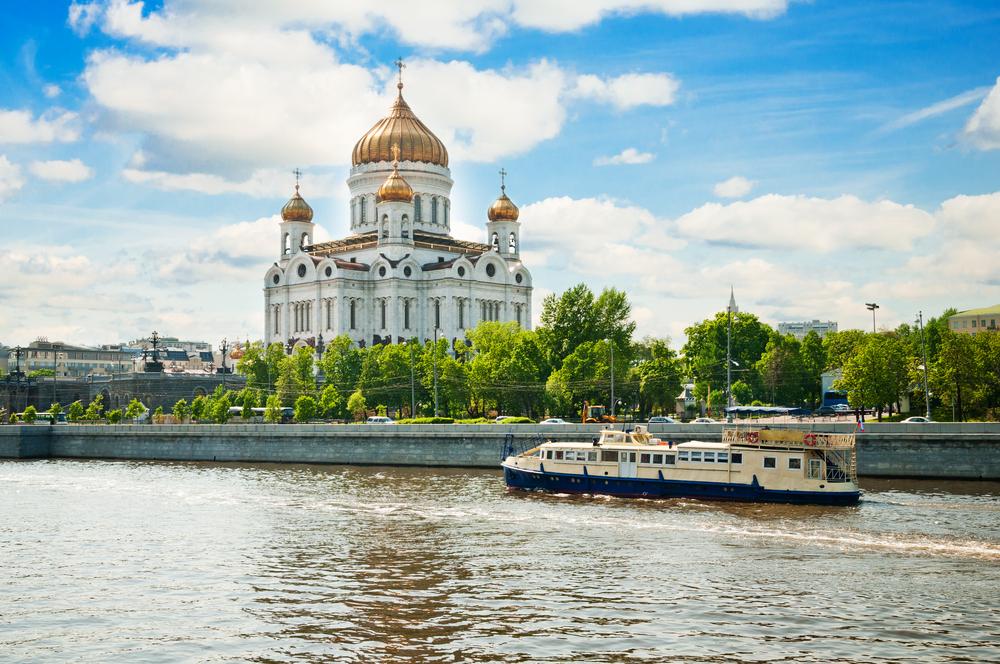 Catedrala din Moscova care a fost cândva o piscină